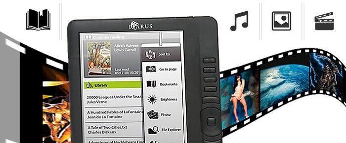 Es lebe die Farbe: Ebook-Reader mit LCD-Display