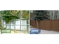 FENCING - REPAIRS or NEW FENCE ERECTION