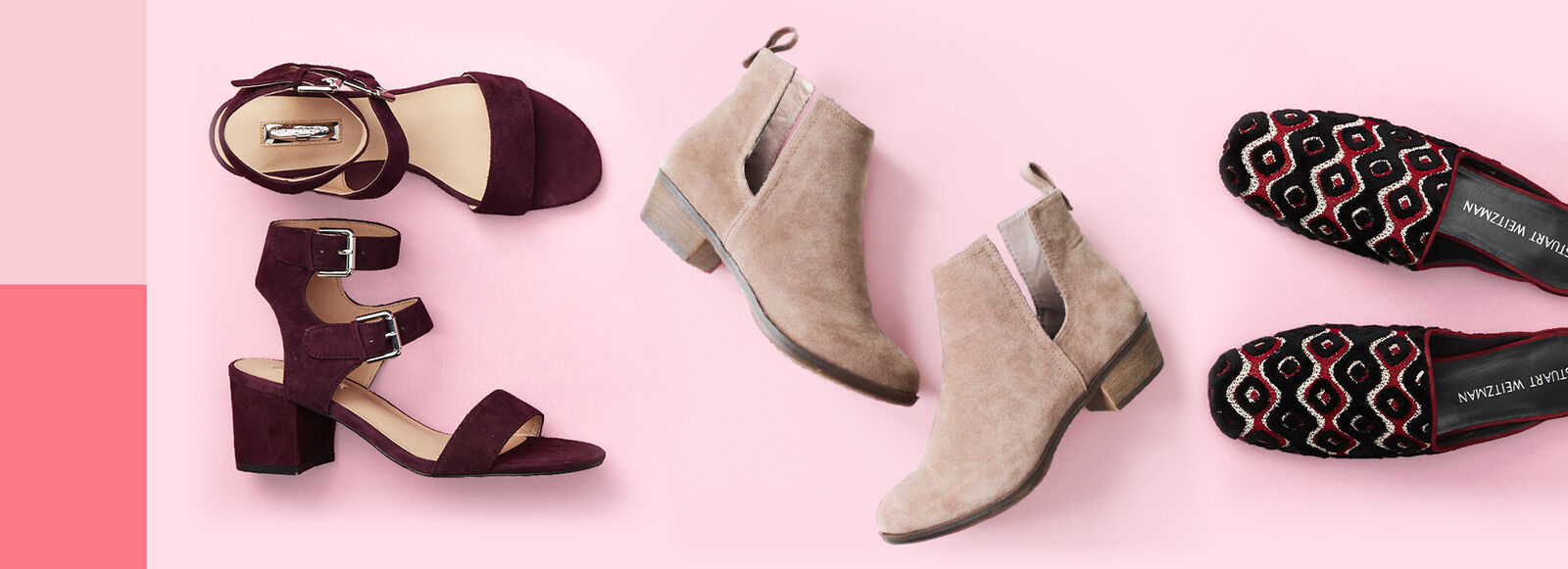 Summer-to-fall booties, mules, and more from $29.99.