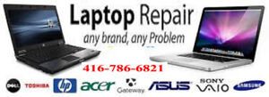 LAPTOP REPAIR-SAME DAY SERVICES-HARDWARE AND SOFTWARE PROBLEMS