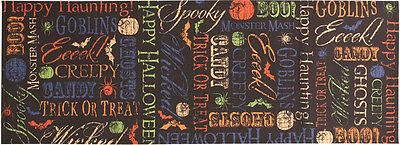 Halloween Treat Table (Spooktacular Halloween Trick or Treat Table Runner)