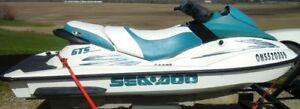 2001 Seadoo gts 3 Seater.