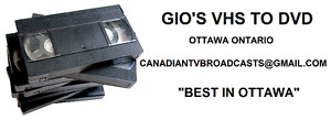 CONVERT YOUR HOME MOVIES TO DVD! BEST PRICES IN OTTAWA