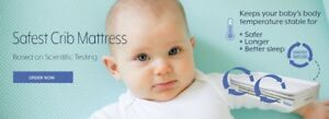 Breathable Baby Crib Mattress by SafeSleep