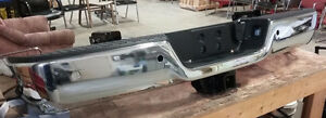 Dodge RAM Chrome Rear Bumper