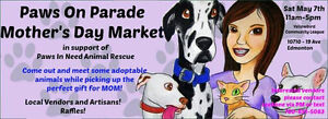 Paws on Parade Mother's Day Market!