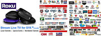 ROKU TV - Local and International Channels Portuguese and more