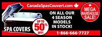 HOT TUB COVERS* FREE SHIPPING ALL OVER ONTARIO!