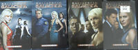 Battlestar Galactica Seasons 1 to 4 on DVD