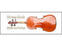 String Circle fiddle workshop