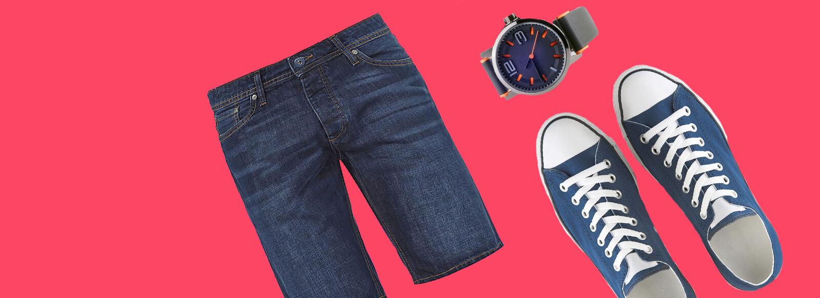 Es wird noch günstiger! Shorts, Sneaker, Uhren ...