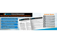 Professional Academic Proofreading For Dissertations & PhD Thesis