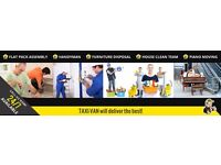 Taxi Van Delivery - Experts in Removals - Professional & Reliable Man and Van Service in Kent