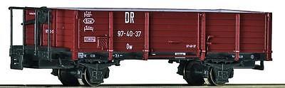 Roco H0e 34550 Güterwagen 0w offen mit Bremserbühne DR Ep.3 NEU OVP