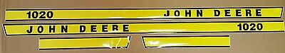 John Deere 1020 Hood Decal Set