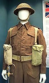 WW1 and WW2 uniforms, helmets, field gear