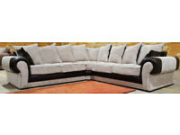 Large Corner Sofa - Light Brown. Excellent condition. Can Deliver