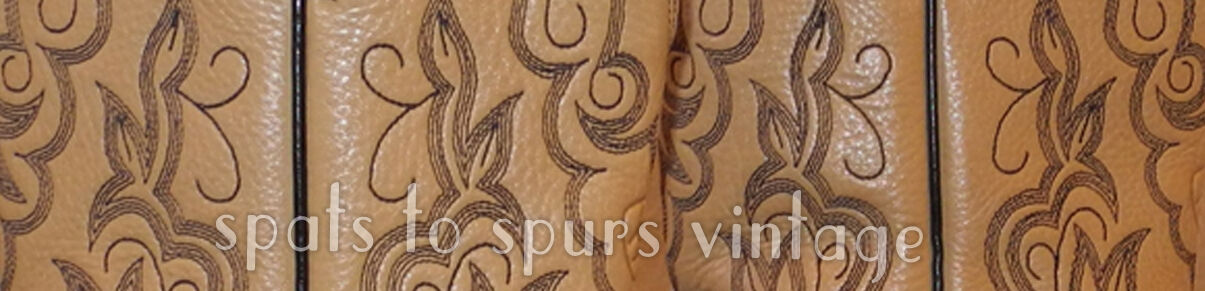 Spats to Spurs Vintage