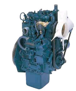 Small 2, 3 or 4 cylinder engine