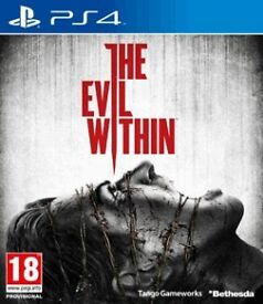 the evil within , ps4 , as new ! price stands , no offers !