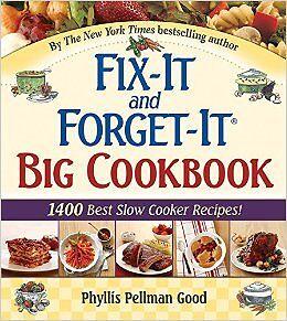 Fix it and forget it (slow cooker book) reg $29.99 Edmonton Edmonton Area image 1
