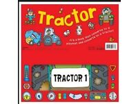 Convertible Tractor book (NEW)