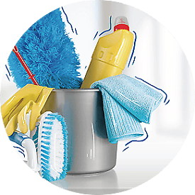 Cleaning service / house support