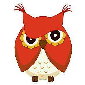 Cute red owl Wall Sticker - Totally Movable Brisbane City Brisbane North West Preview