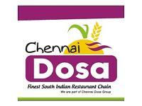 Waiters for Chennai Dosa New Malden