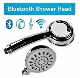 Shower head with Bluetooth speaker from as low as £39