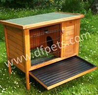 *USED* Standing small animal hutch