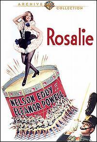 ROSALIE (Eleanor Powell DVD) R2 UK compatible / english cover