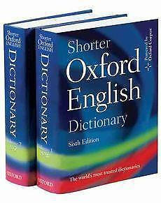 List of English dictionaries
