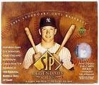 SP Legendary Cuts Baseball Box