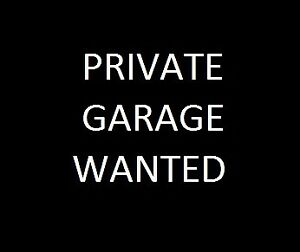 Private Garage Rental Wanted near Ossington & Queen