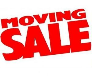 May 20th Moving Sale