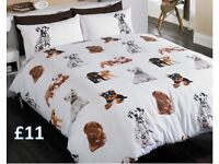 Dogs duvet set