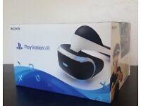 PS4 Playstation VR PS VR Head Set with PlayStation Camera v1