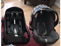 Graco car seat and iso base fix