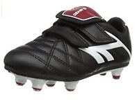 NEW Football Boots Hi-Tec Unisex League Pro Junior Football Shoes