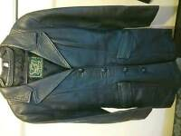 Real leather coat, size M