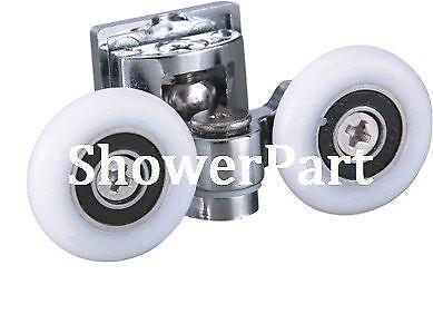 Shower Door Rollers 25mm Ebay