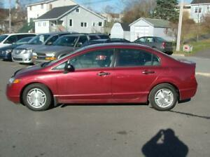 2008 HONDA CIVIC DX-G 5SPD LOADED 150KMS LUCKY DAY SPEC $4588.