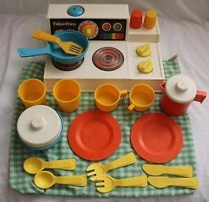 Fisher price cuisinière (magic burner stove)