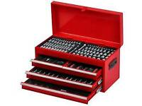 Phaze 275 Piece Tool Chest Set Kit Lock Handle Sockets Bits Screwdriver Pliers RRP £160!