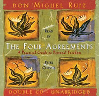 Like New- Listened to once  Audio book  In The Four Agreements,