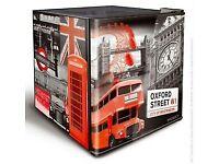 Husky EL195 Mini Fridge - London Ed - Great condition