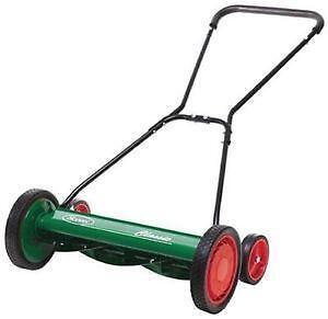 Manual Push Lawn Mowers