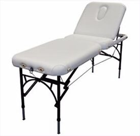 Massage Beds - Affinity Marlin white x 2 (Nearly New)