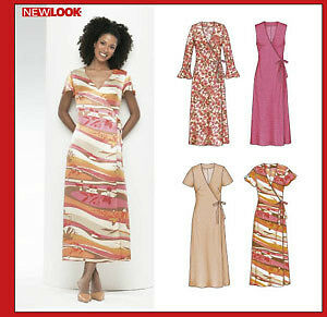 New Look Sewing Pattern 6349 New, Uncut